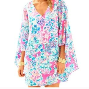 Lilly Pulitzer Miri silk caftan / dress 0